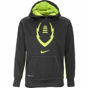 ede498e1bc21 NWT Boys Nike Therma-FIT KO Football Logo Hoodie 618036 Size XL Age ...