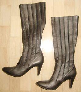 Stiefel Braun Schaft, Damenschuhe gebraucht kaufen   eBay