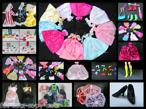 BARBIE-SINDY-DOLL-CLOTHING-x-7-FULL-WARDROBE-DRESS-BIKINI-UNDERWEAR-SHOES-JEANS