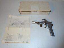 Rare Binks Model 363 Paint Spray Gun With Original Box Amp Diagram