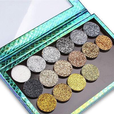 Shimmer Glitter Eye Shadow Pressed Powder Makeup Waterprrof Eye Beauty Eyeshadow