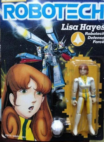 Robotech Macross Harmony Gold Action Figure Lisa Hayes RARE