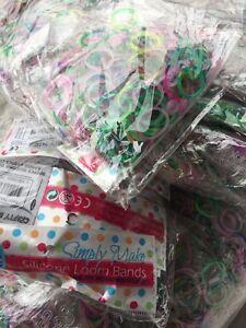 Lot-Revendeur-Destockage-De-6000-Bracelets-L-039-OM-Bands-Enfants