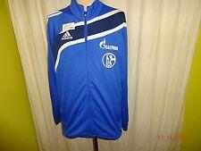 "FC Schalke 04 Adidas Spieler Freizeit- Trainingsanzugs Jacke ""GAZPROM"" Gr.M"