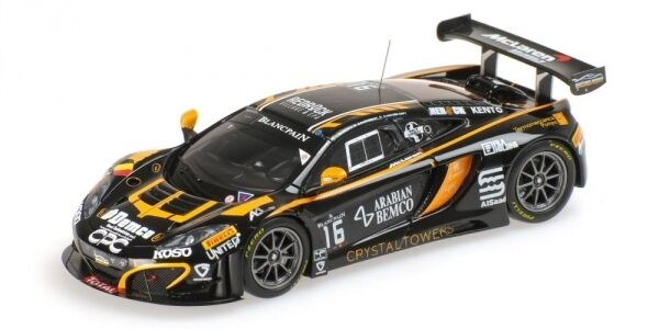 McLaren 12c Gt3 Schmetz Demirdjian Sarkissian Vander Drif 24h Spa 2014 1 43