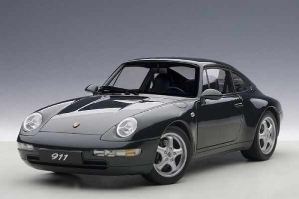 AUTOart PORSCHE 911 993 CARRERA 1995 Grün 1 18 78134