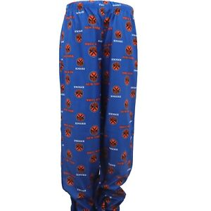 c16db4e40a1c New York Knicks Youth Size Official NBA Print All Over Pajama Pants ...