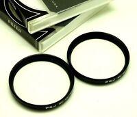 2pc 43mm Mc Uv Filters For Voigtlander Bessa, Leica Lens Or All 43mm Filter Size