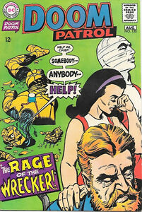 The Doom Patrol Comic Book 120 Dc Comics 1968 Very Fine Ebay