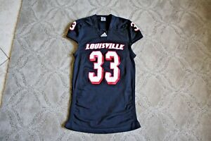 buy online 1de8f 3218e Image is loading Louisville-Cardinals-non-game-used-jersey-team-issued-