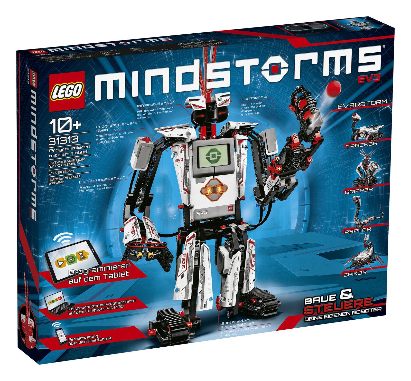 LEGO ® 31313 Mindstorms ® ev3 Robotics Production Nouveau neuf dans sa boîte _ NEW En parfait état, dans sa boîte scellée Boîte d'origine jamais ouverte