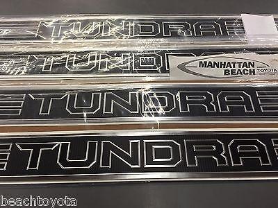 Color: Black 2014 Tundra Door Sill Protectors