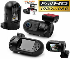 Original Ambarella Dash Cam Car DVR Pro + GPS Full HD 1080P BLACK BOX DashCam