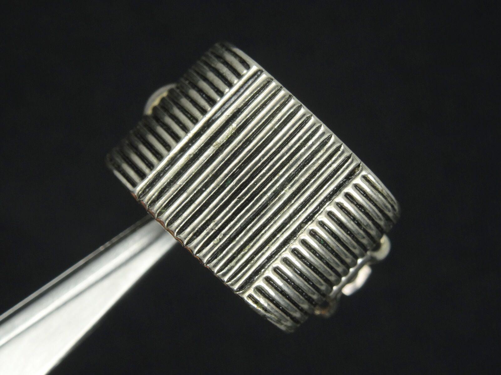 VINTAGE 80's RALPH LAUREN DESIGNER EARRINGS  ~ 0.… - image 3