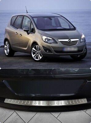 Vauxhall Opel Astra H MK5 5 V Chrome Rear Bumper Protector Scratch Guard S.Steel
