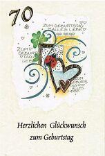 1 Glückwunschkarte zum  2 Geburtstag Karte Grusskarten #52-0102