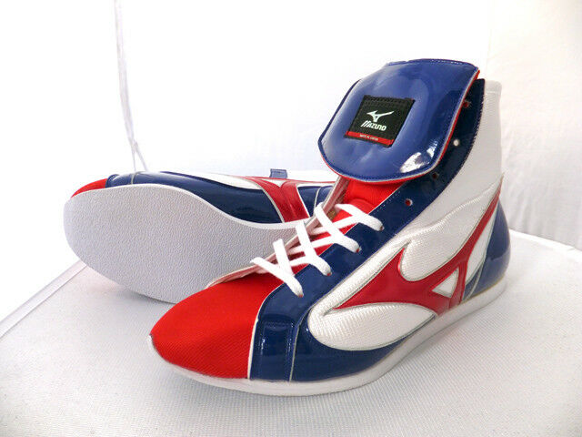 Mizuno Japan Boxing Schuhes 21GX151000 21GX151000 Schuhes Short Type Weiß x Navy x Tiptoe ROT New e33b51