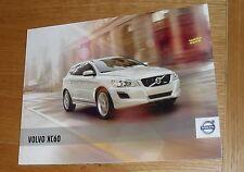 Volvo XC60 Brochure 2010-2011 - T6 T5 D5 D3 - ES - SE - SE Lux - R Design