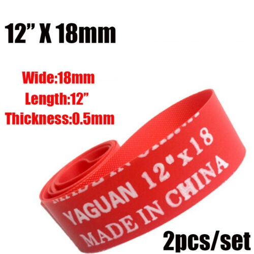 Durable Red Top New Anti Puncture Tape Bike Inner Tube Pad Bicycle Tire Liner