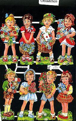 Angemessener Preis 60er Jahre Motiv Aus Dem Ausland Importiert # Glanzbilder # Ef 7041 Nostalgie Glimmer Kinder & Blumen