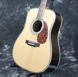 Starshine-SR-MAC-D45-Electric-Acoustic-Guitar-With-Fishman-EQ-Solid-Spruce