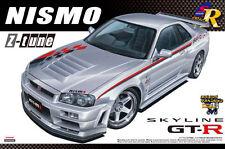 AOSHIMA 1/24 SCALE SKYLINE R34 GT-R Z-TUNE PLASTIC MODEL KIT * NEW STOCK*