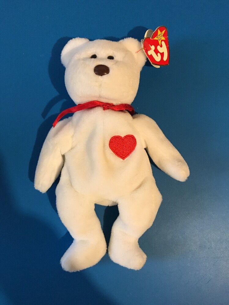 EXTREMELY RARE Valentino Beanie Babies with Multiple Errors 1993-1994