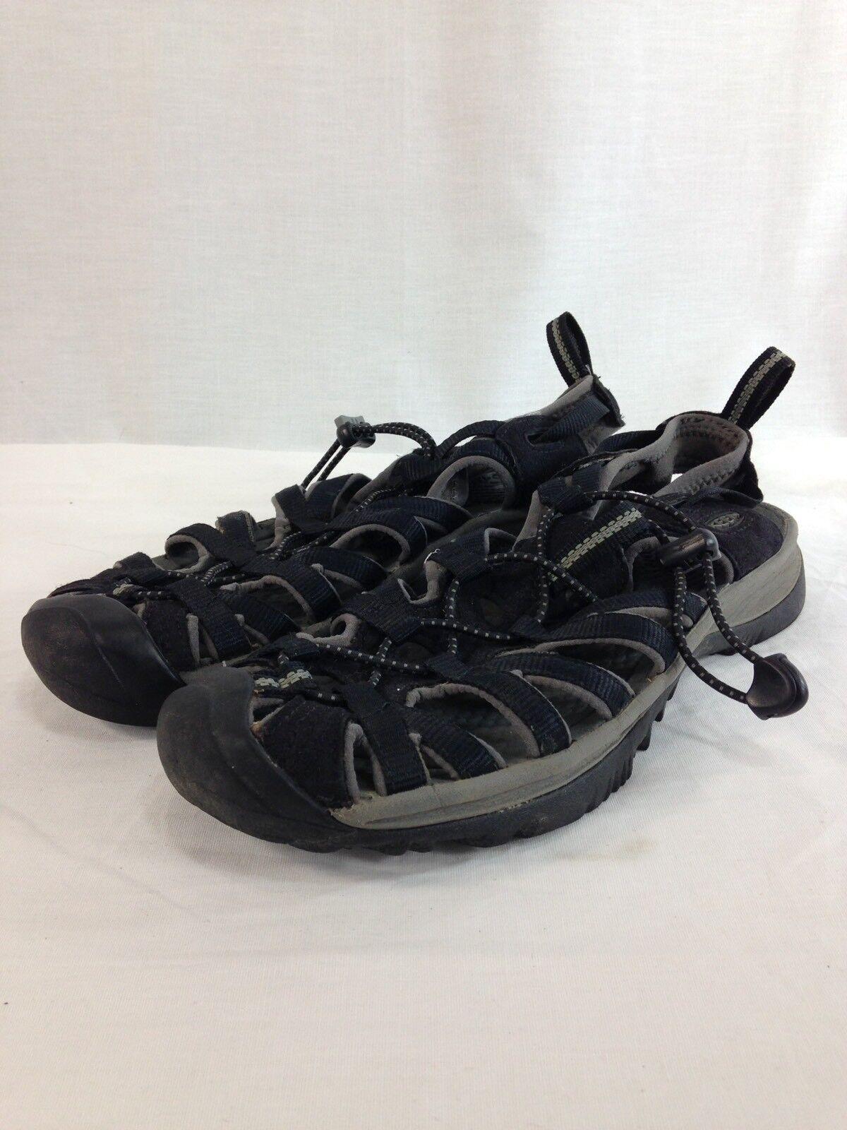 Keen Newport Sport Sandals scarpe donna 8 8 8 nero Hiking Trail Drawstring b5328b
