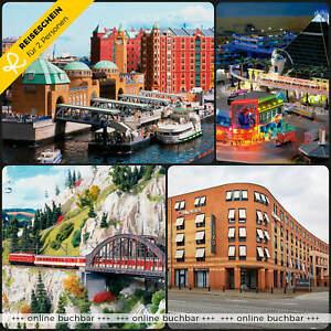 Städtereise Hamburg 3 Tage 2 Personen 4* H4 Hotel & Miniatur Wunderland Tickets