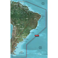 Garmin Bluechart G2 Vision - Vsa001r - South America East Coast - Microsd/sd