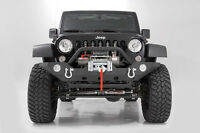 Rough Country Jeep Jk Full Body Package Front Rear Bumpers Tube Fenders Grille