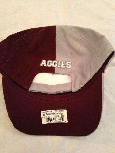 detailed look c5899 549f8 ... Texas A M Aggies NEW Adjustable Adult NCAA Slashed Hat . Cap College  Mens Fan