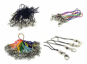 Mobile-Cell-Phone-Mp3-Usb-Key-Ring-Lanyard-Strap-With-Lobster-Clasp-Cords-62mm