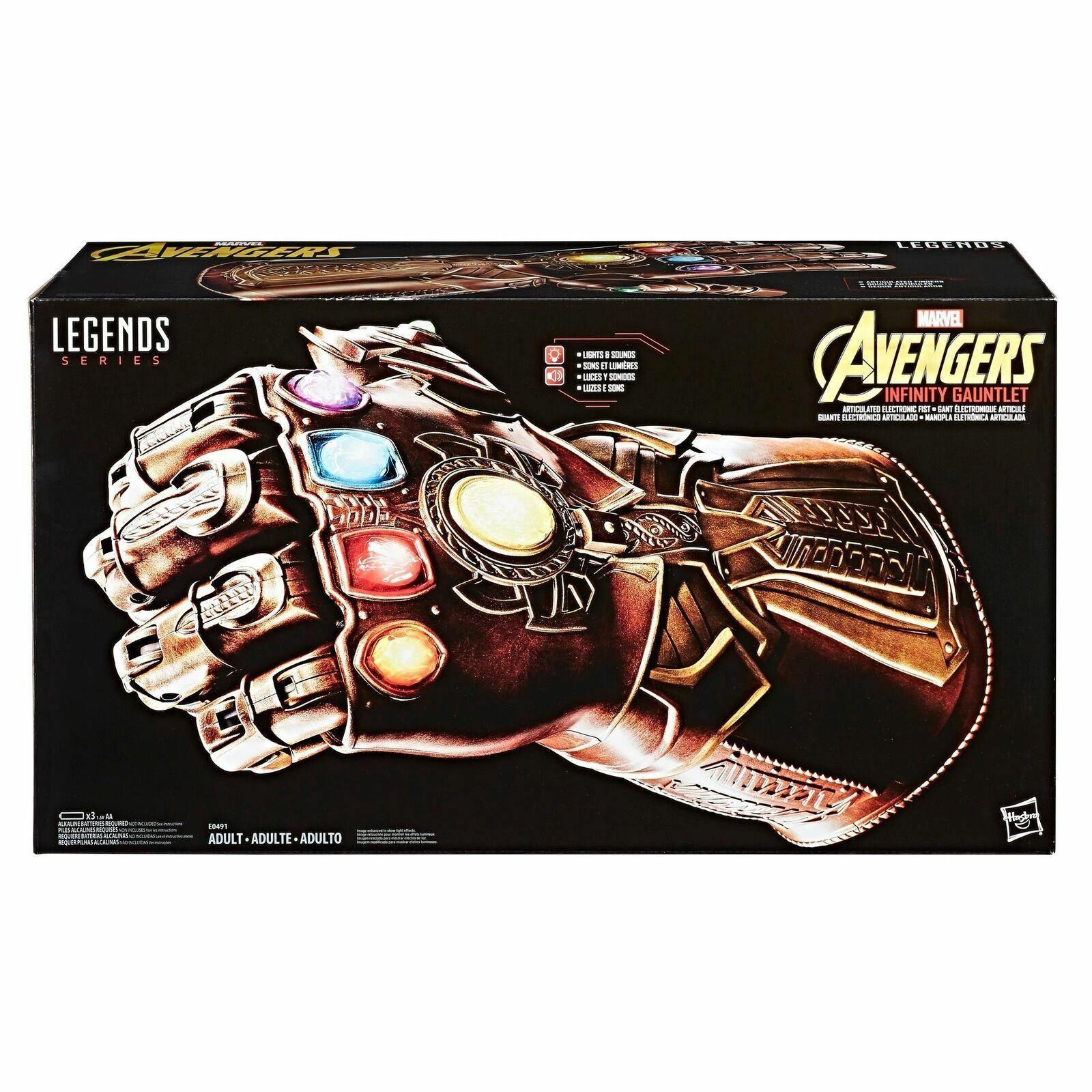 Avengers Unendlichkeit Krieg Marvel Legends Kopie Thanos Gauntlet Neu