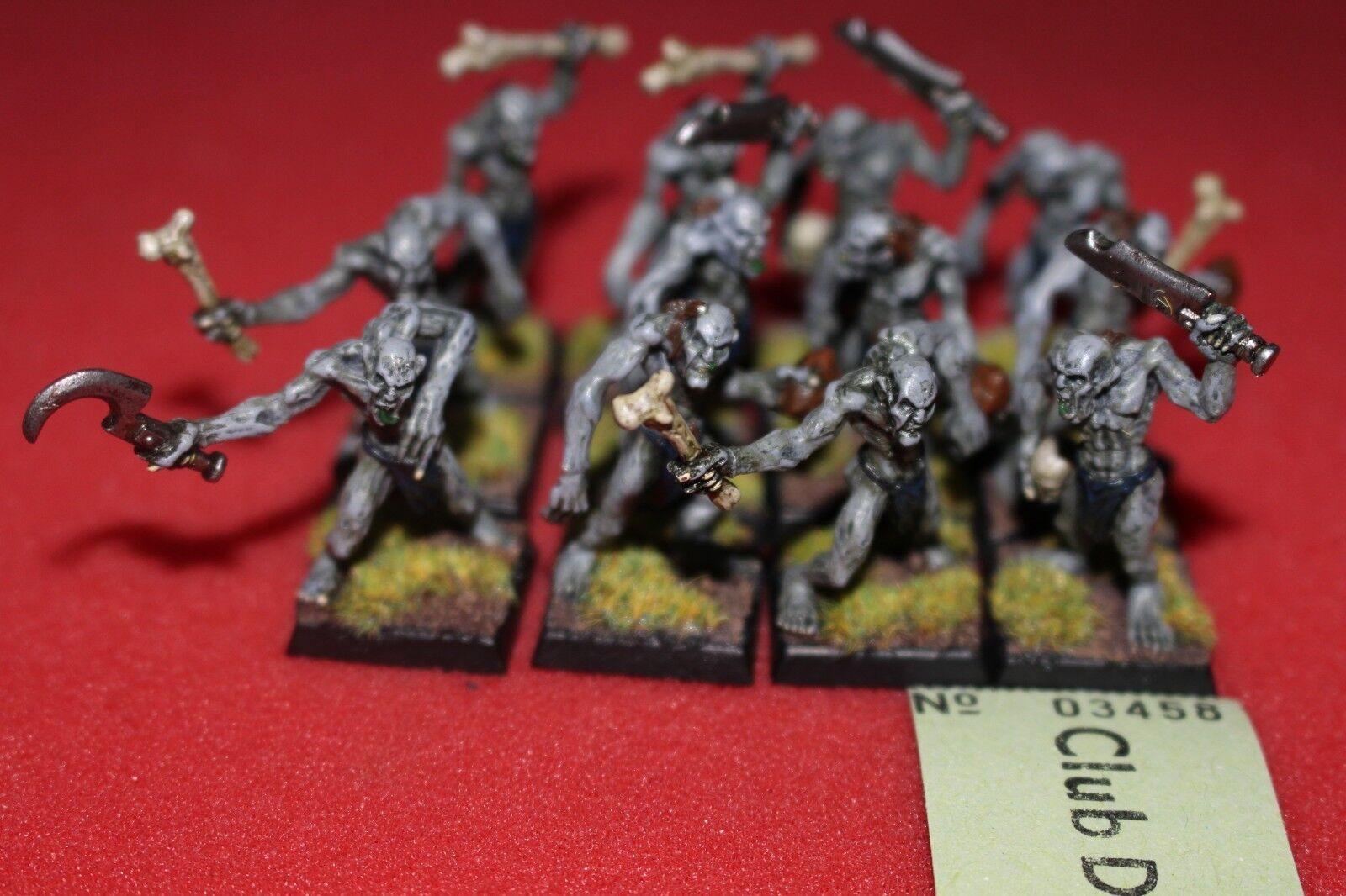 Juegos taller Warhammer no muertos cripta Ghouls Regimiento Metal CONDES VAMPIRO fuera de imprenta