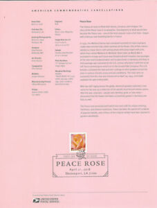 1812-50c-Forever-Peace-Rose-5280-Souvenir-Page