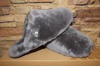 Ugg Australia Fluff Clog W/bow Slip On Shearling Slippers Us 6 Eu 37 Grey