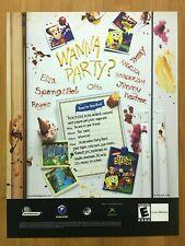 Nickelodeon 1994 RoundHouse Cast Album Poster 11x17 Unused Honeycomb Post Cereal