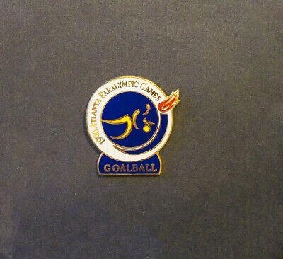 Sports Memorabilia Atlanta Summer Paralympics Atlanta 1996 Paralympic Goal Ball Pin