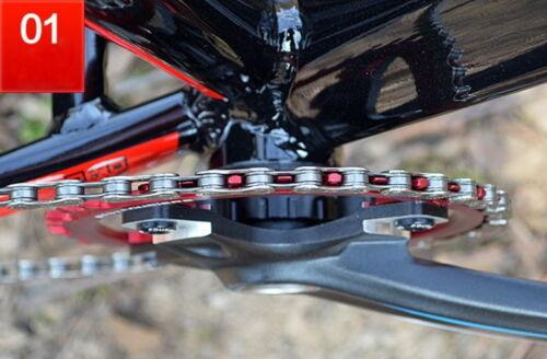 FOURIERS BCD 104 Chainring 50-54T Teeth Mountain Bike MTB Bicycle Chainwheel E1