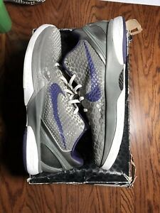 new product 6e461 853e6 Image is loading RARE-Nike-Zoom-KOBE-VI-6-CHINA-METALLIC-