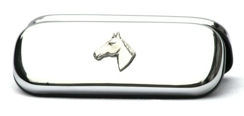 Horse Head Design Pen Case /& Ball Point Fox Hunting Rider Gift FREE ENGRAVING