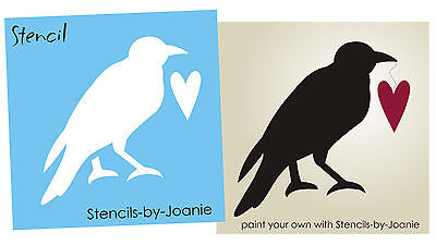 Joanie Stencil Prim Blessings Country Crow Stars Craft Signs Family Decor