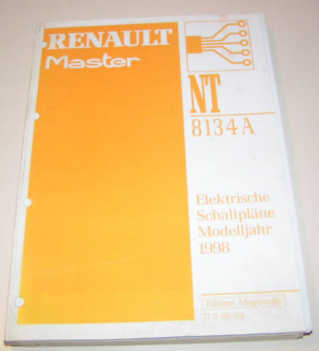 Wiring Diagrams Renault Master Stand 1998