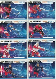 2019-20-Upper-Deck-Credentials-Hockey-U-PICK-Rookie-Science-RC-Texier-Merzlikins
