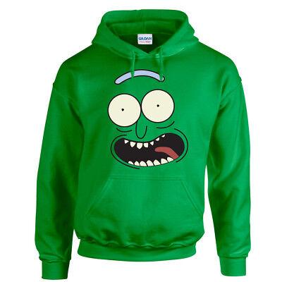 Schwifty Hoodie Rick and Morty Fans Pickle Joke Birthday Gift Men Sweatshirt Top