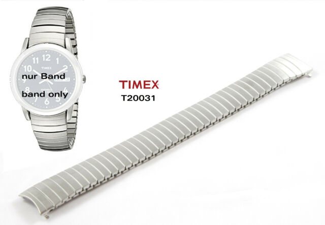 Timex Replacement Band T20031 Flexible Strap Stretch Spare 18mm - T2H451 &