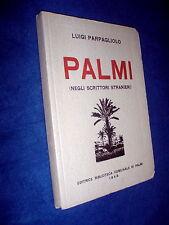 Palmi dagli scrittori stranieri / Luigi Parpagliolo