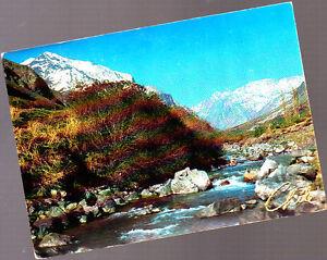 Vintage-Postcard-Chile-El-Volcan-Maipo-River-1980