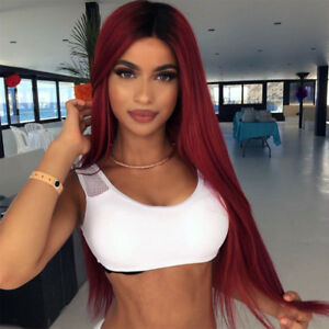 Long-Straight-Synthetic-Hair-Ombre-Red-Wig-Middle-Part-Natural-Wigs-for-Women